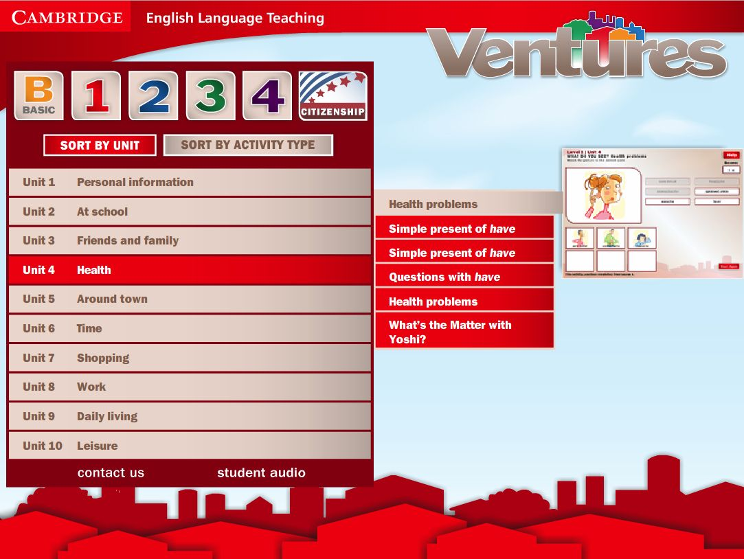 Ventures Arcade Level 1 Menu By Cambridge University