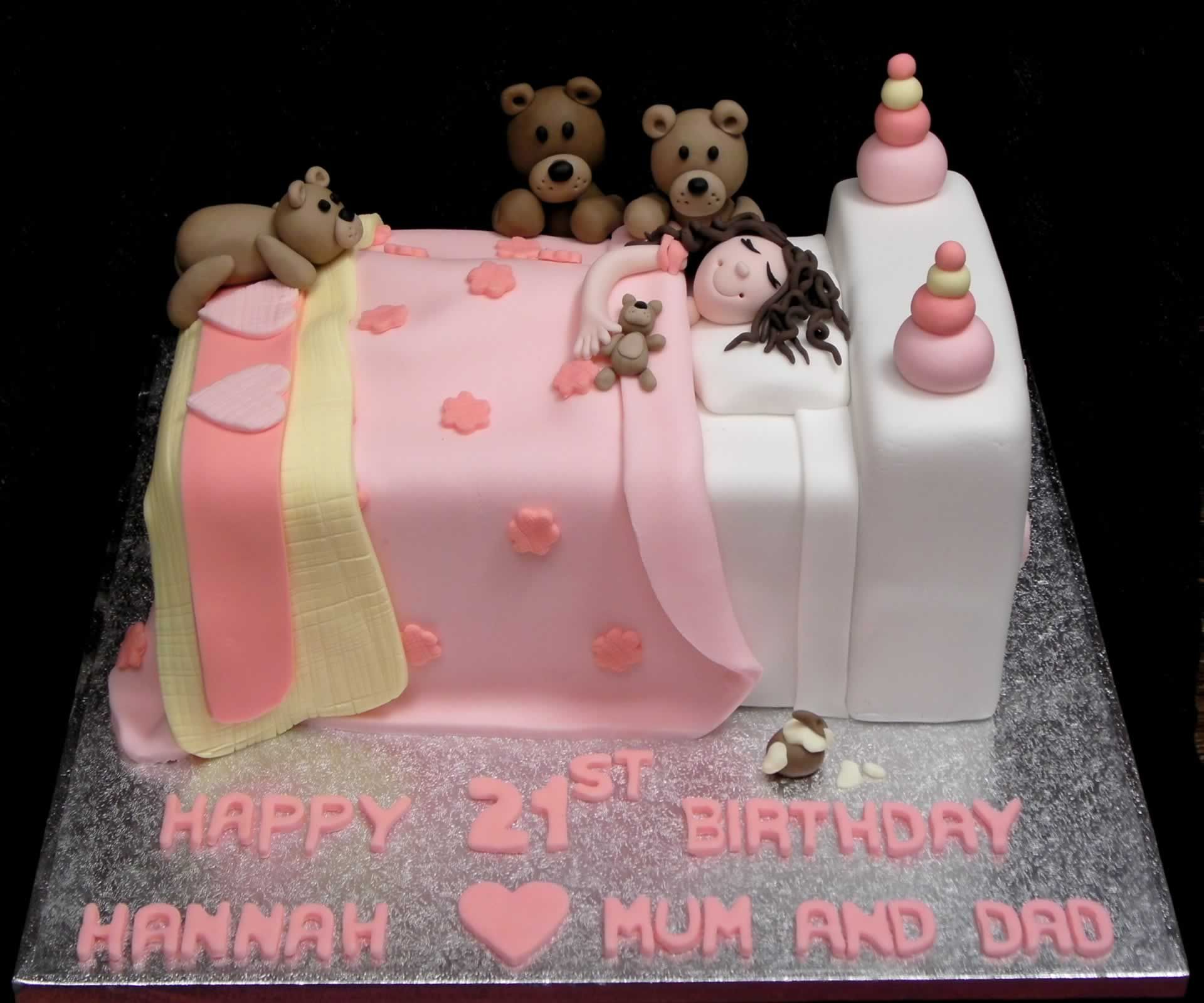 Goldilocks And The Three Bears Cake Brownilocks
