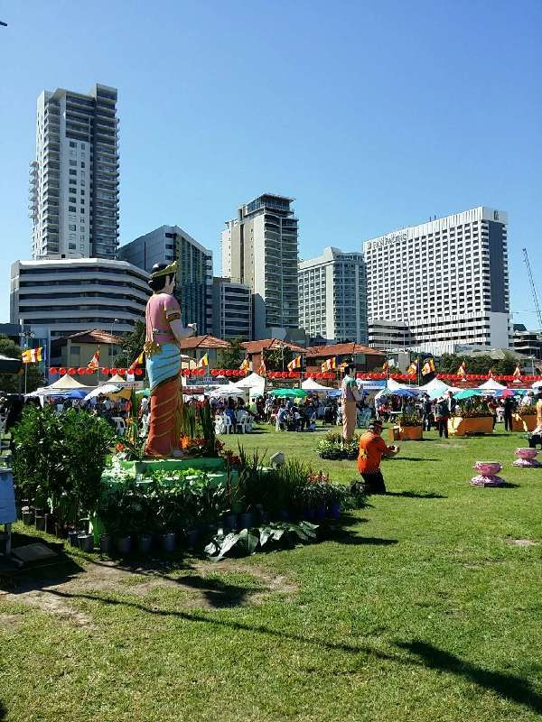 Perth - Keep an eye out for a variety of interesting summer events held in Langley Park by the river, like the Buddhist Cultural Festival.