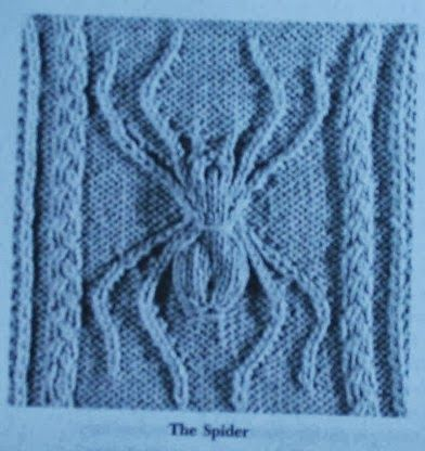 Knitting Patterns 3d Spider Knit Stitch Knitting Patterns