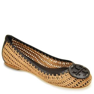 zapatos tory burch del ganchillo