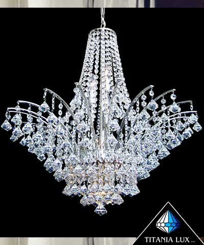 Bohemia crystal glass chandelier Made in Czech republic – Bohemian Glass Chandelier