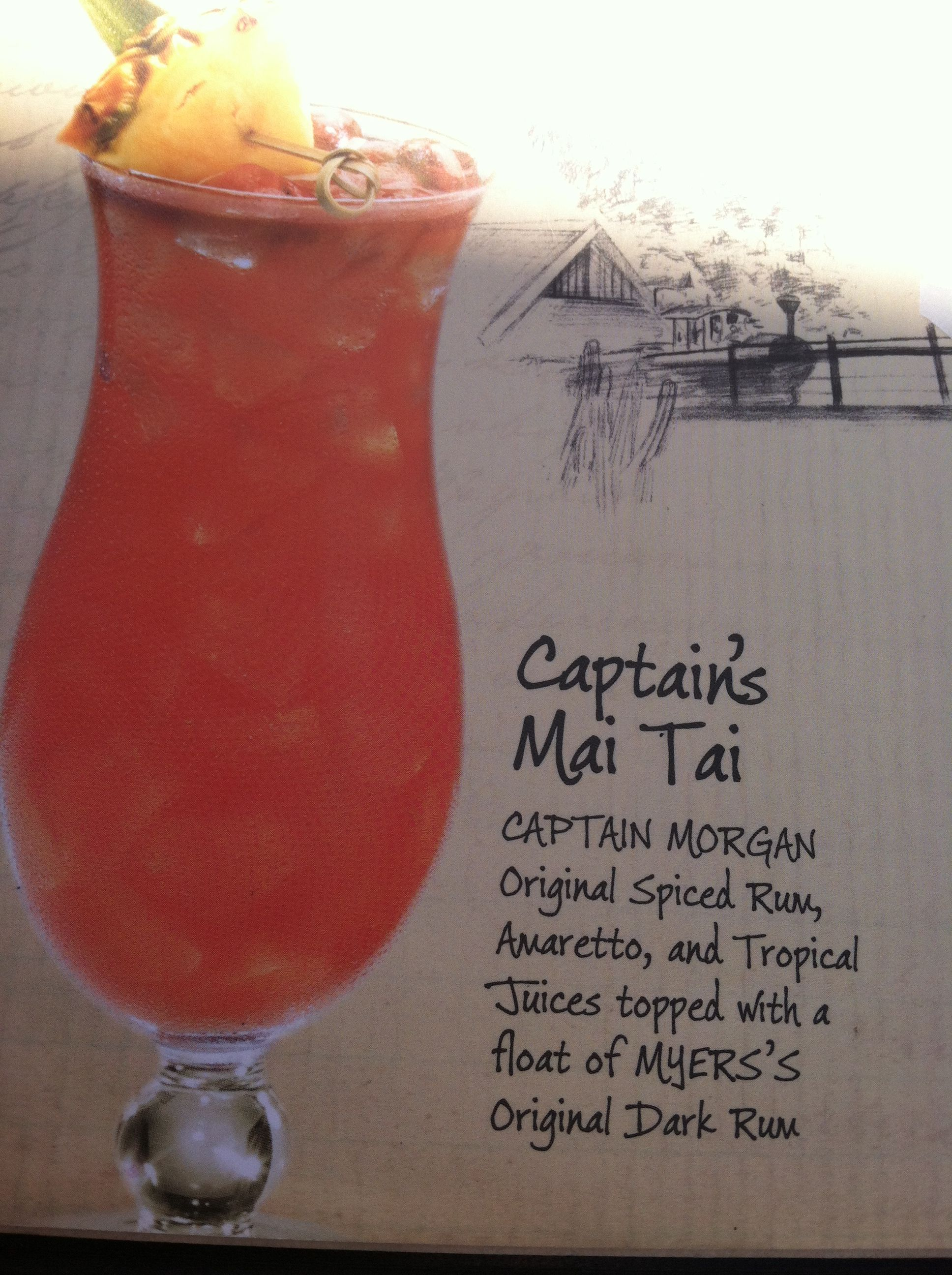 Captain S Mai Tai Mai Tai Brewing Drinks