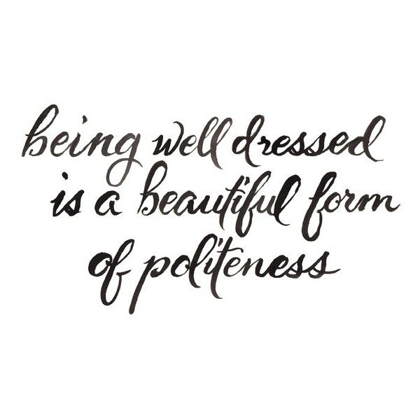Wednesday Words of Wisdom November 27, 2013 | Fashion