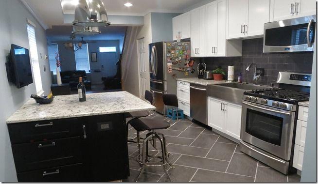 A Rowhouse Kitchen Renovation Baltimore Rowhouse Kitchen And Mesmerizing Kitchen Remodel Baltimore Property
