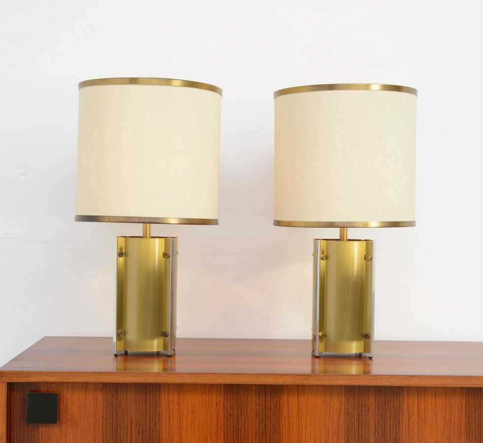 Exclusive pair of table lamps by g sciolari for sciolari roma exclusive pair of table lamps by g sciolari for sciolari roma geotapseo Image collections