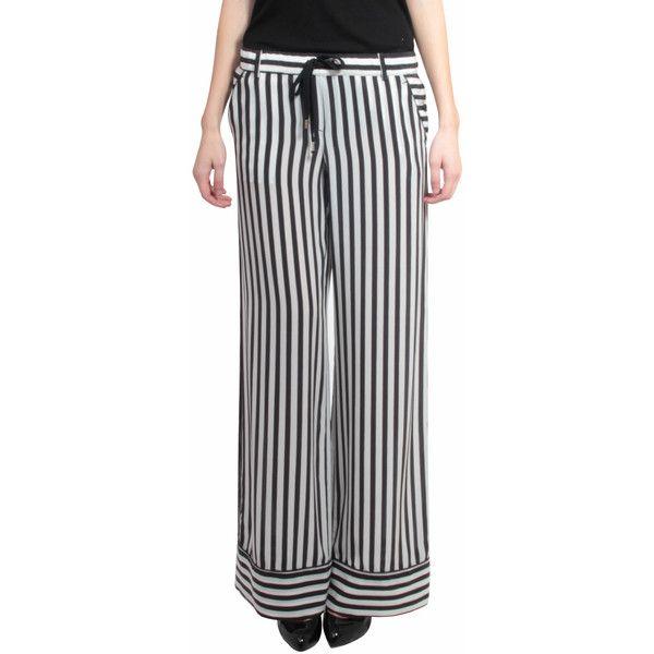 Atos Lombardini Silk trousers with drawstring waist