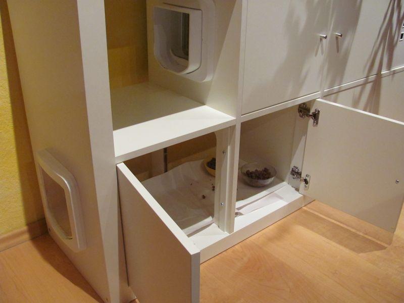 zum f ttern macht man einfach die t ren auf den katzen fehlt daf r der daumen und die einsicht. Black Bedroom Furniture Sets. Home Design Ideas