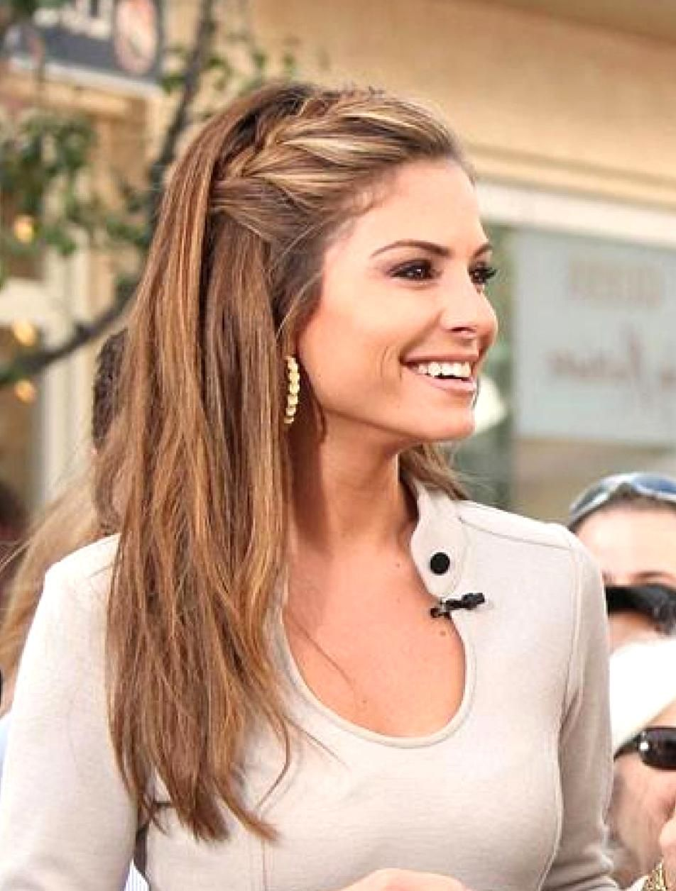 Casual French Braid Hairstyle For Long Hair Casual Hairstyles For Long Hair Straight Hairstyles Loose Hairstyles