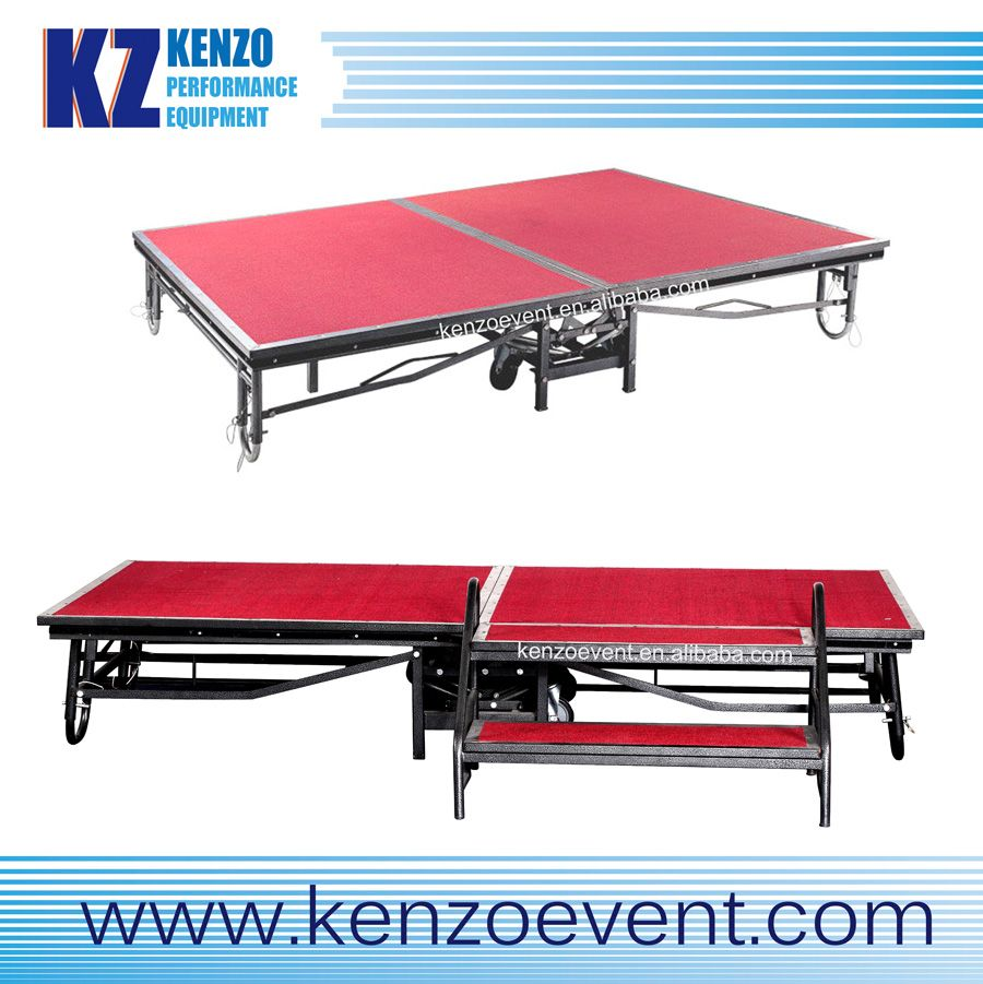 diy portable stage small stage lighting truss. Iron Folding Portable Stage With Wheels - Buy Wheels,Folding Diy Small Lighting Truss