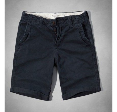 Bermuda Abercrombie & Fitch Men's A&F Classic Fit Shorts Navy
