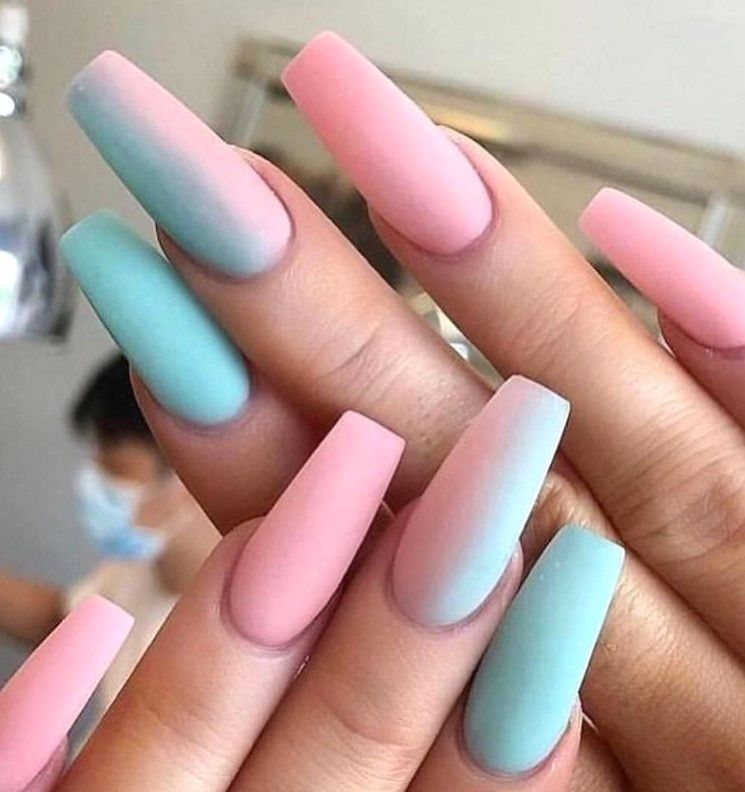 30 Beautiful Summer Nail Art Color Ideas In 2020 Acrylic Nail Designs Ombre Acrylic Nails Best Acrylic Nails