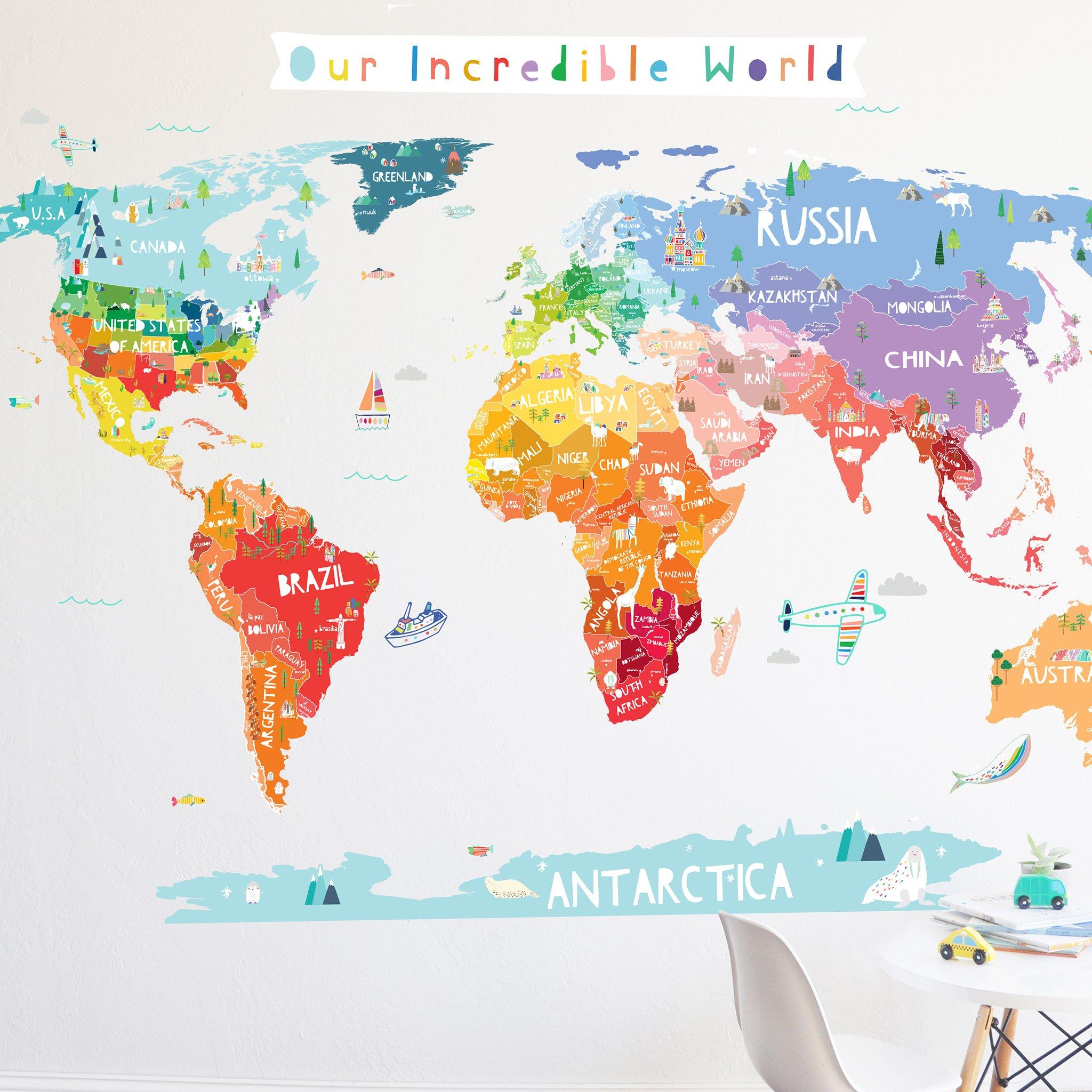 Pin on world map