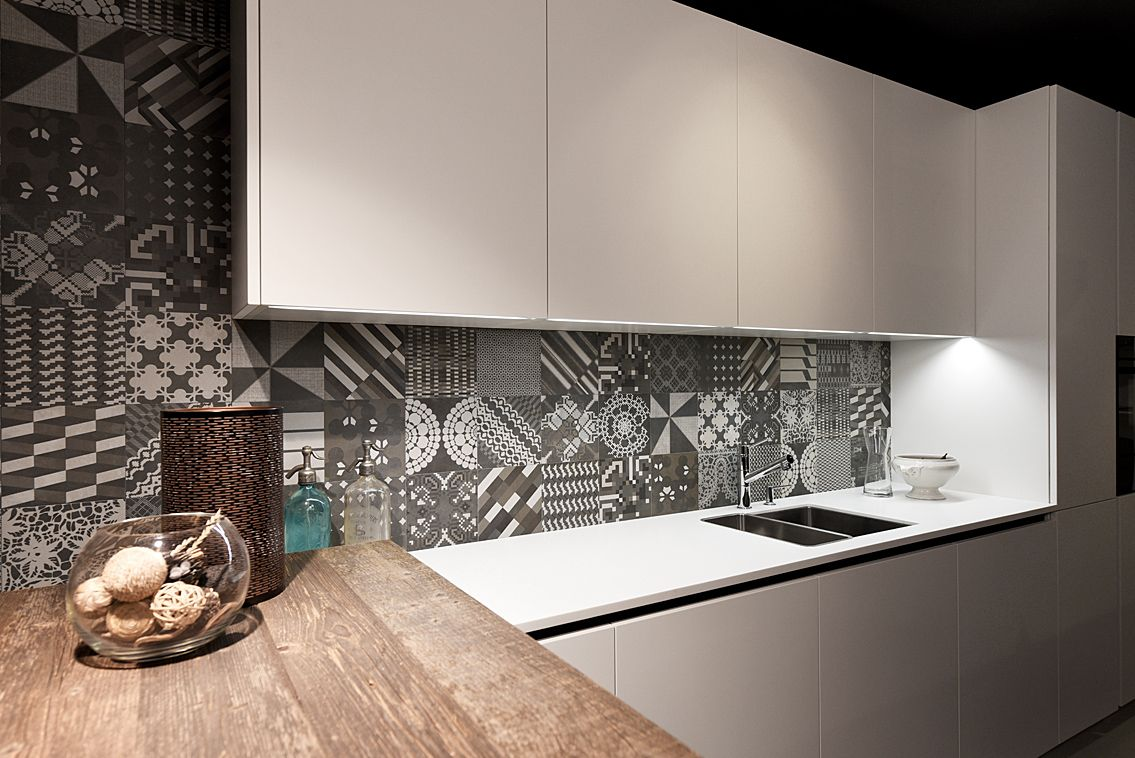 Cucina Varenna Poliform Alea presso il nostro showroom di Mendrisio ...