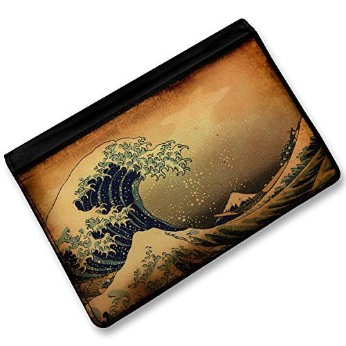 RFID Passport Holder Beach surfing wave Cover Case  Wallet  Neonblond -- Continue to the product at the image link.