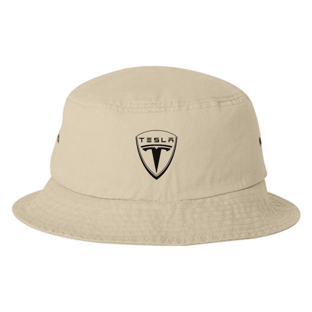 Tesla Logo Bucket Hat