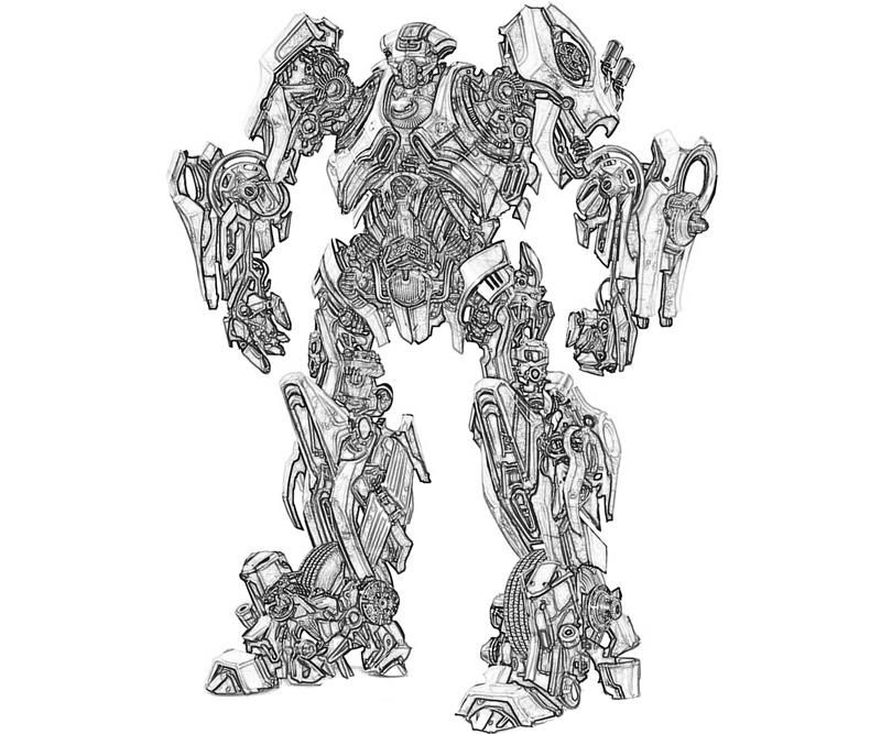 Transformers 3 shockwave coloring pages images of for Ratchet coloring pages