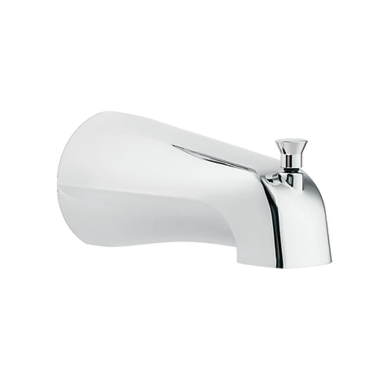 Moen 3801 5 1 2 Wall Mounted Tub Spout With Build Com In 2021 Tub Spout Wall Mount Tub Faucet Tub Faucet Moen wall mount tub faucet