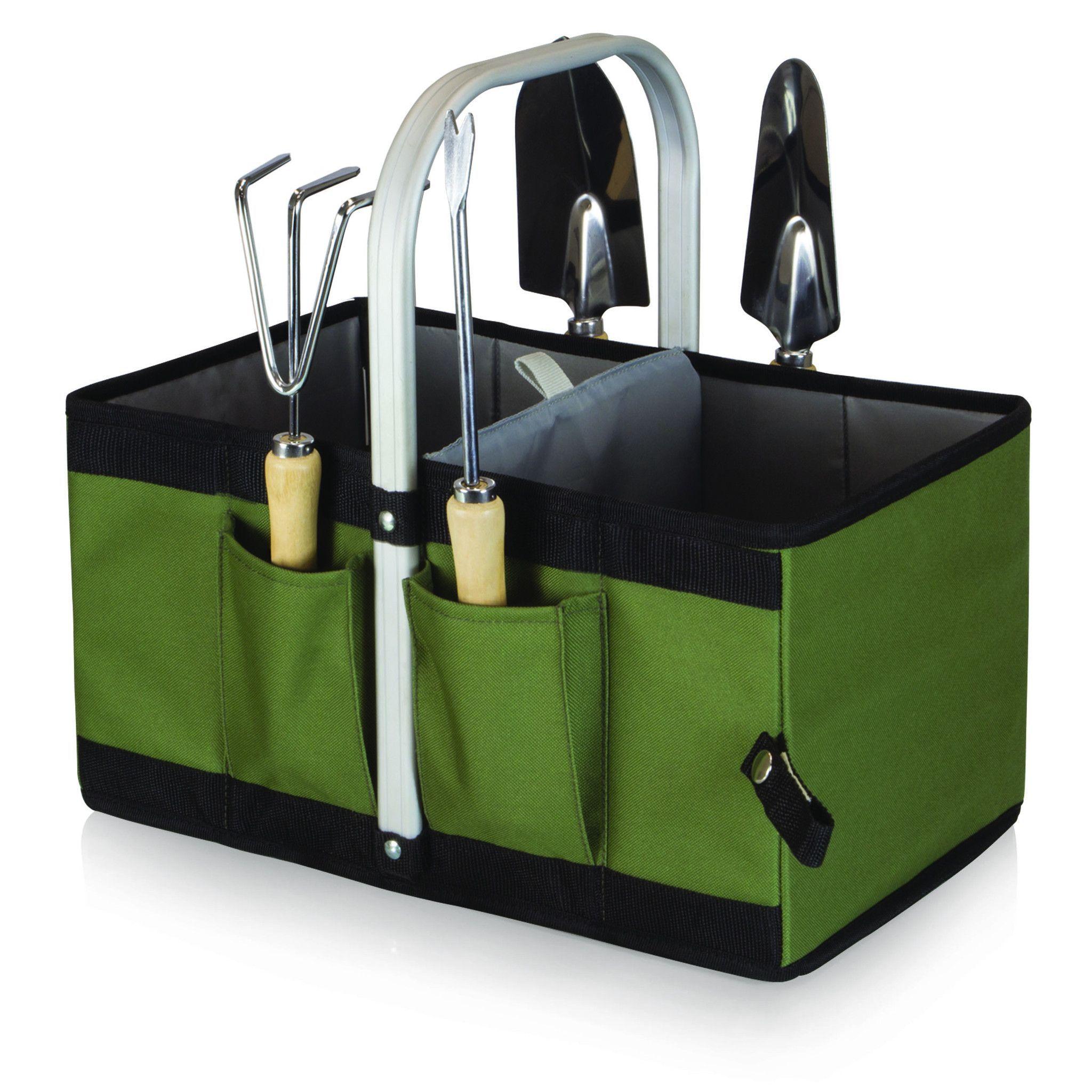 4f2e7da11228f1fcbc0b0fc70bf8b606 - Picnictime Gardener Chair And Tools Set