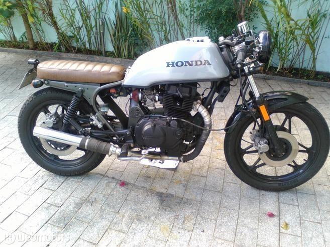 Honda cb 450 dx bobber motorjdi honda cb 450 dx caf and cafe bike altavistaventures Choice Image