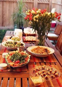 ideas for an at home engagement party products i love pinterest