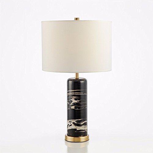 Gohoo Moderne Mode Einfache Schwarze Marmor Lampe Modell Lampe Tischlampe  Schlafzimmer Wohnzimmer High End