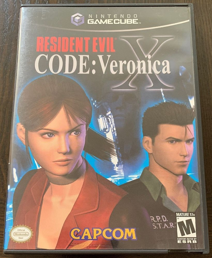 code veronica x gamecube