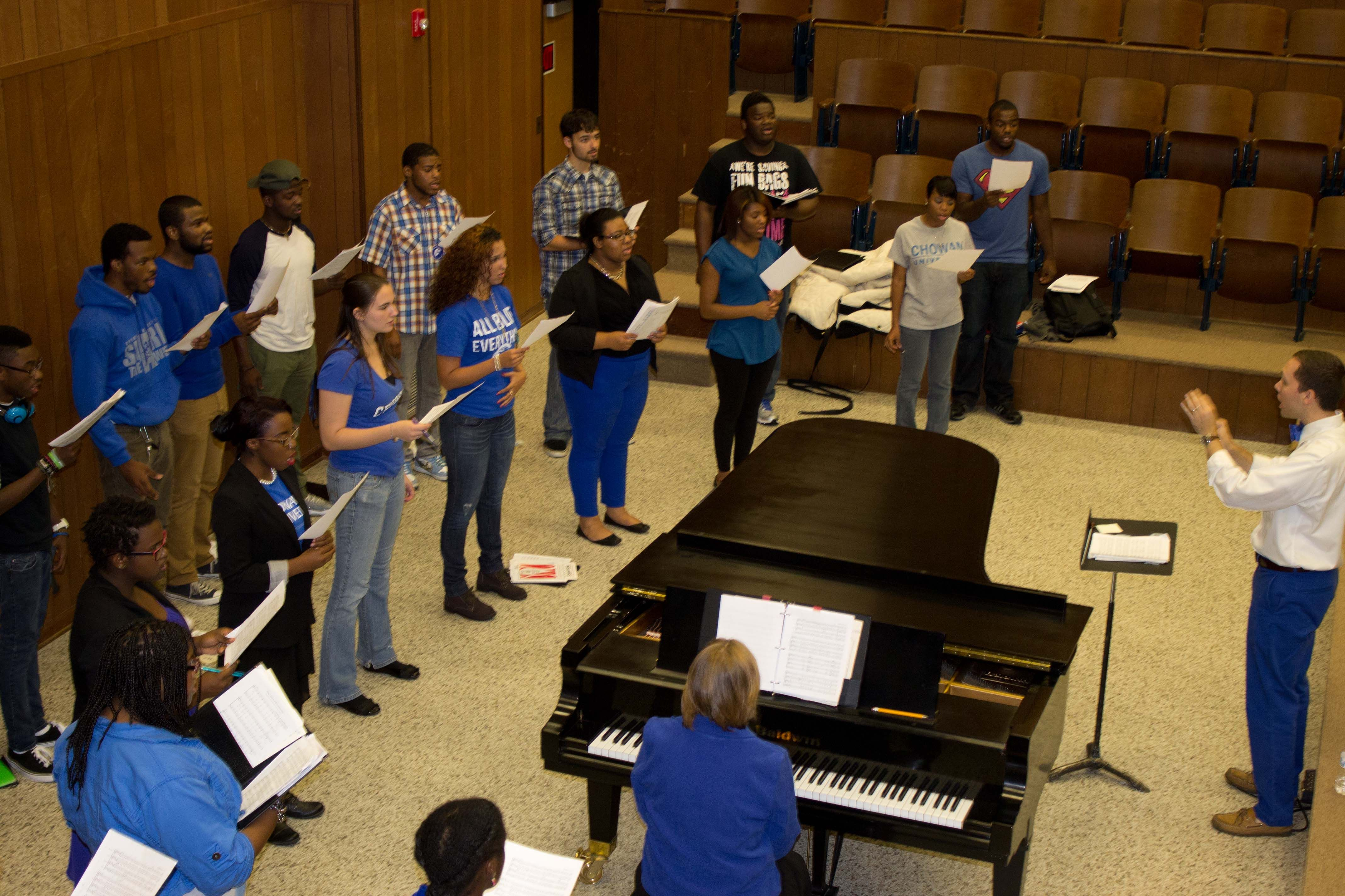 Chowan offers three choral ensemble options to our students - Chowan Singers, Cantare, and Chowan Chorus.