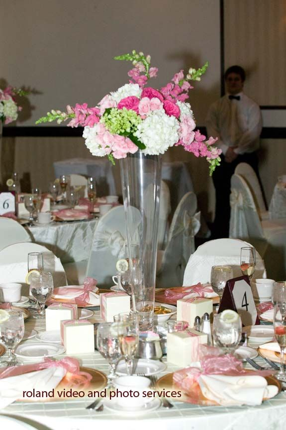 Flower arrangements for quinceaneras wedding fresh