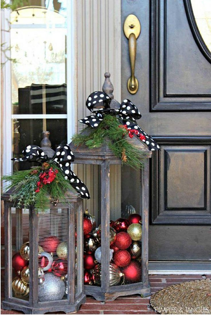 Simple Outdoor Decor For Your Porch The Holidays