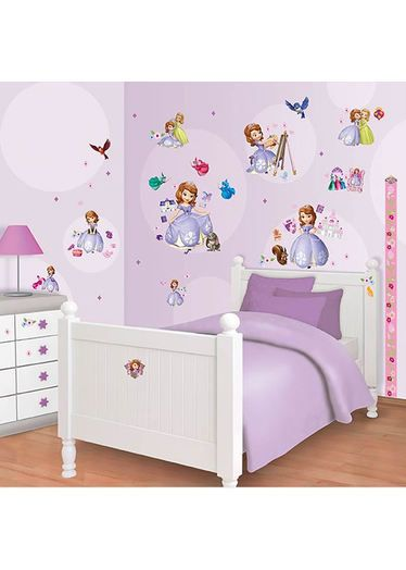 Sofia The First Room Decor Kit With Height Chart Http Www Childrens Rooms Co Uk Html Disneyprincess