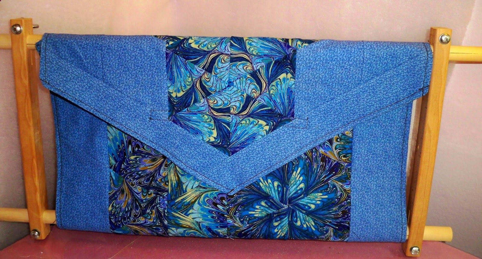 Scroll Frame Cover. Love this blue, of course. | Cross Stitch ...