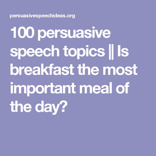 speech topics using body language