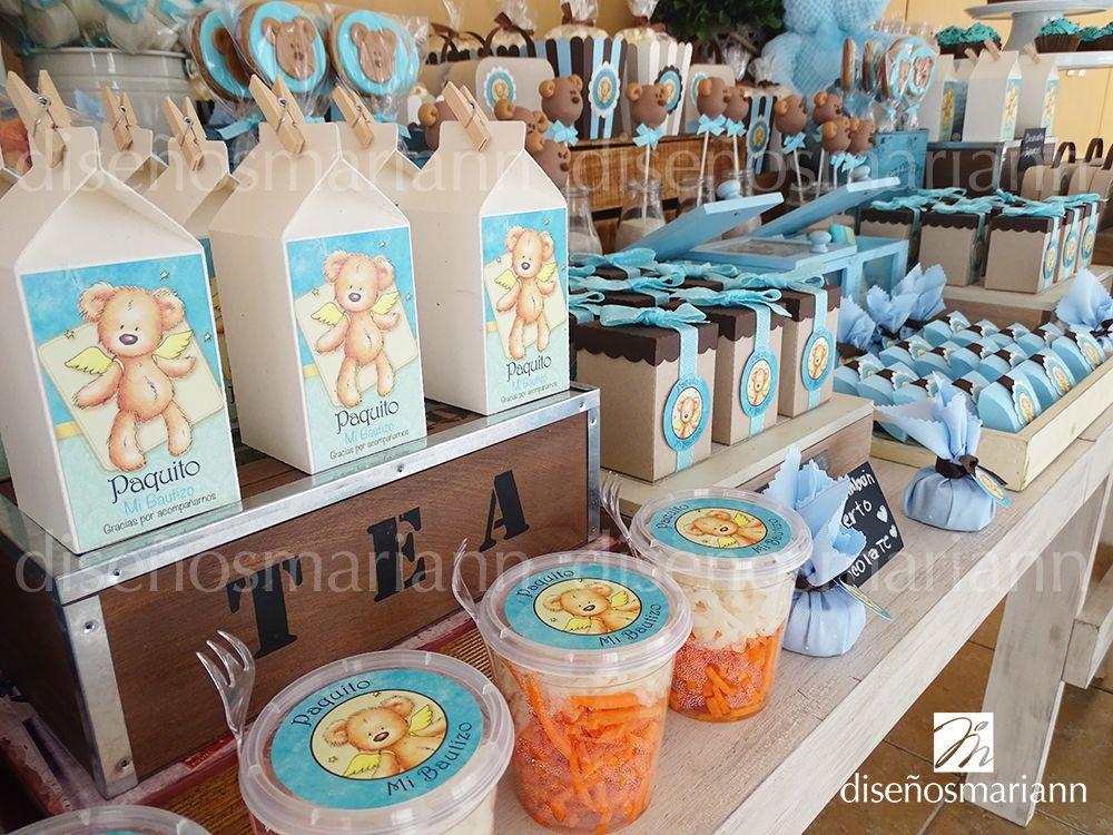 Mesa de dulces moderna vintage mesas de dulces for Mesa de dulces para bautizo de nina