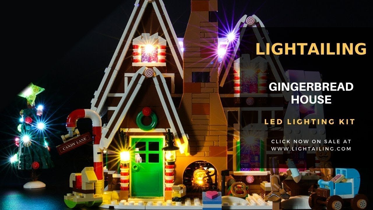 Lightailing Light Kit For Lego Gingerbread House 10267 Lego Gingerbread House Led Light Kits Gingerbread House