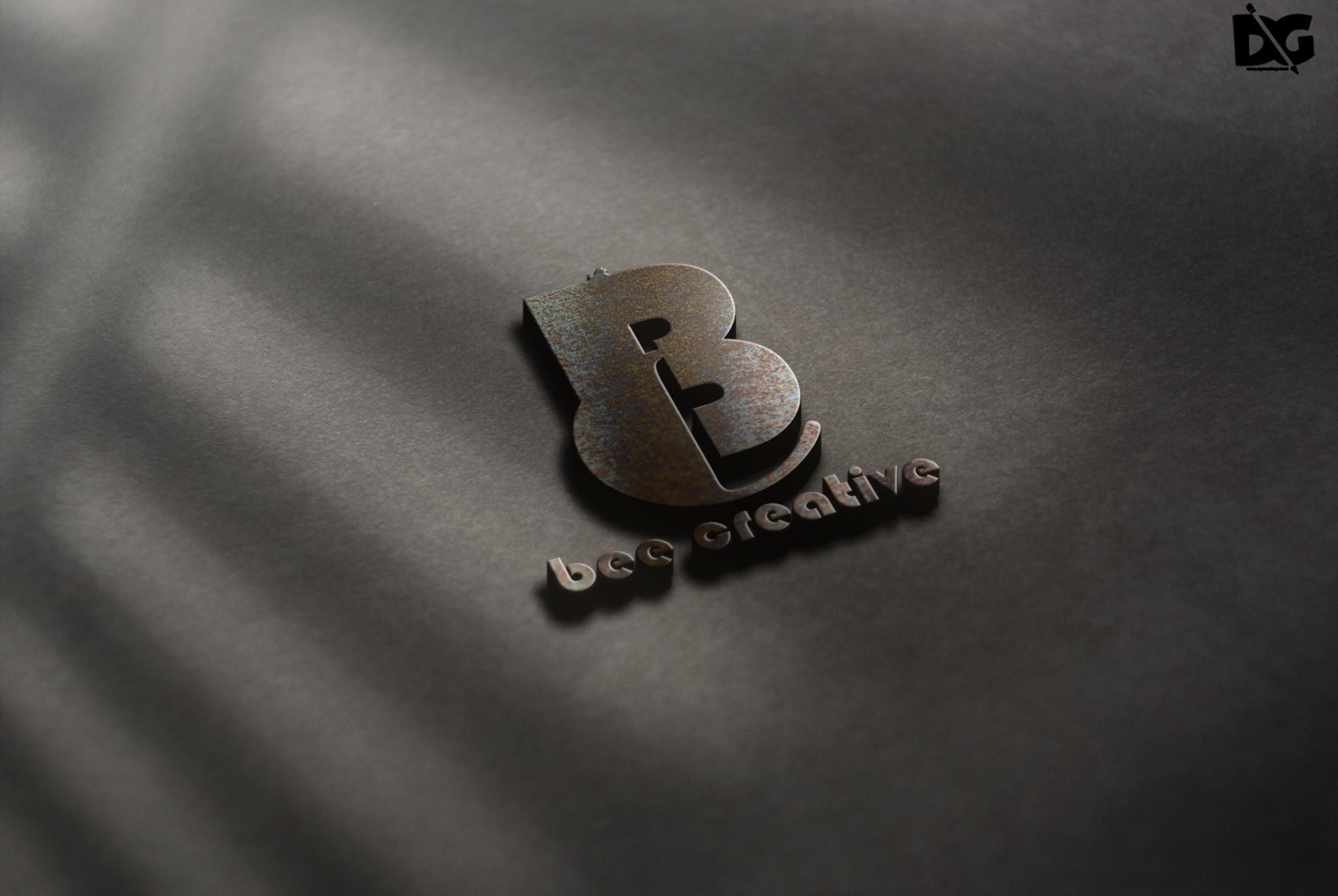 Premium PSD 3D Logo Mockup in 2020 Free logo mockup