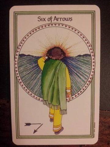 6 of Swords Medicine Woman Tarot