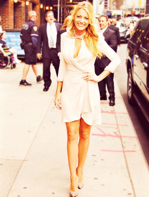 100 Favorite Outfits/Dresses(1/100) Blake Lively.