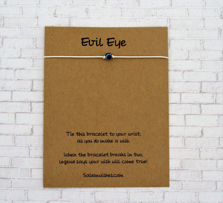 Mini Evil Eye Protection Bracelet Evil Eye Wish Bracelet
