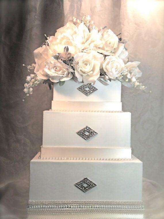 Cream Wedding Card Box Reception Card Holder
