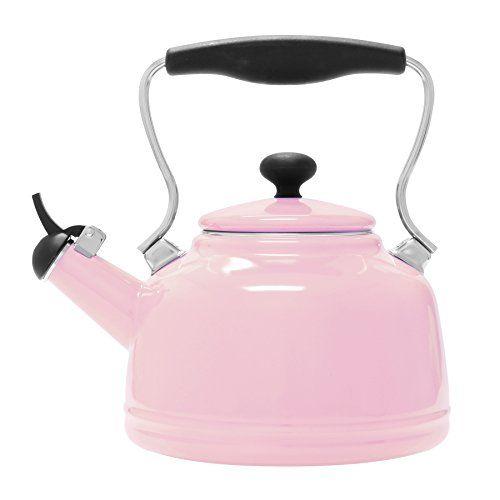Chantal Enamel On Steel Vintage Teakettle 2 Qt Pink Click Image To Review More Details Vintage Tea Kettle Tea Kettle Kettle