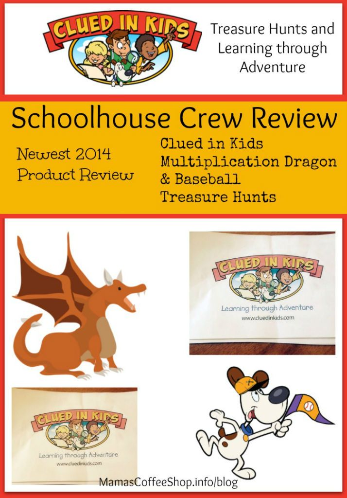 {Product Review} Clued in Kids For Treasure Hunt Fun and Learning in One #review #homeschool #TreasureHunts #ScavengerHunts @cluedinkids #hsmama #math #baseball