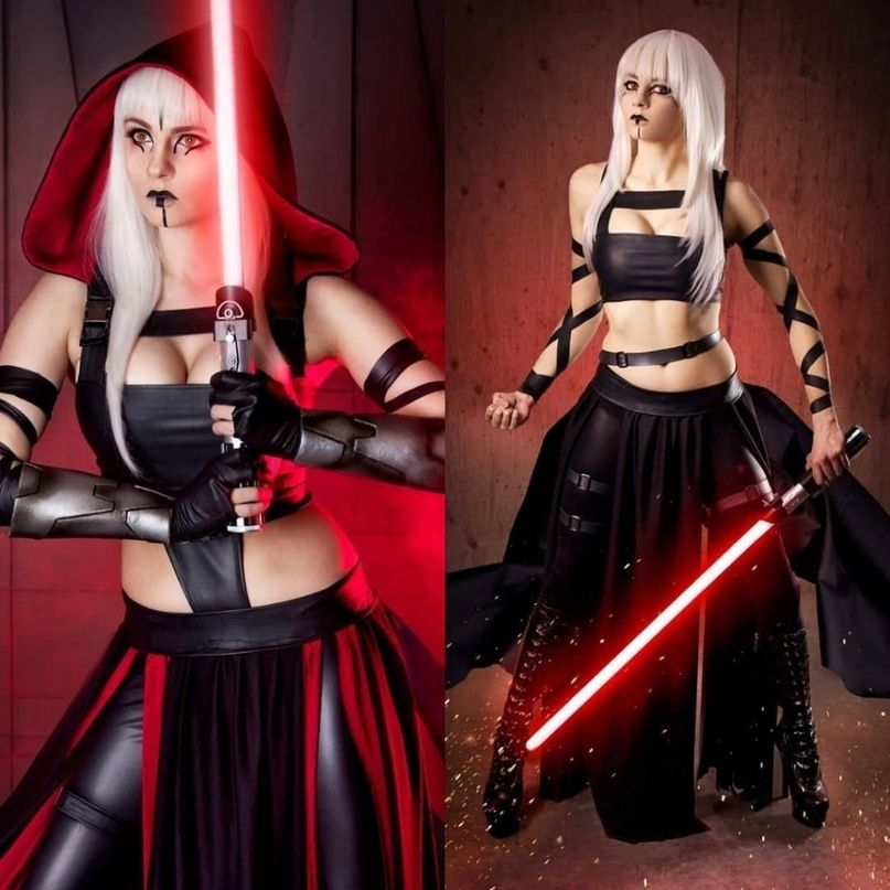 Sith Vegeta On Lady Cosplay Netfapx 1