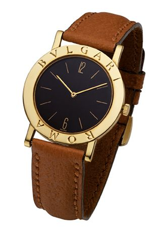 Bulgari   Relógios - BVLGARI∙BVLGARI   Man s watch   Gold watch ... aa98b22a7c