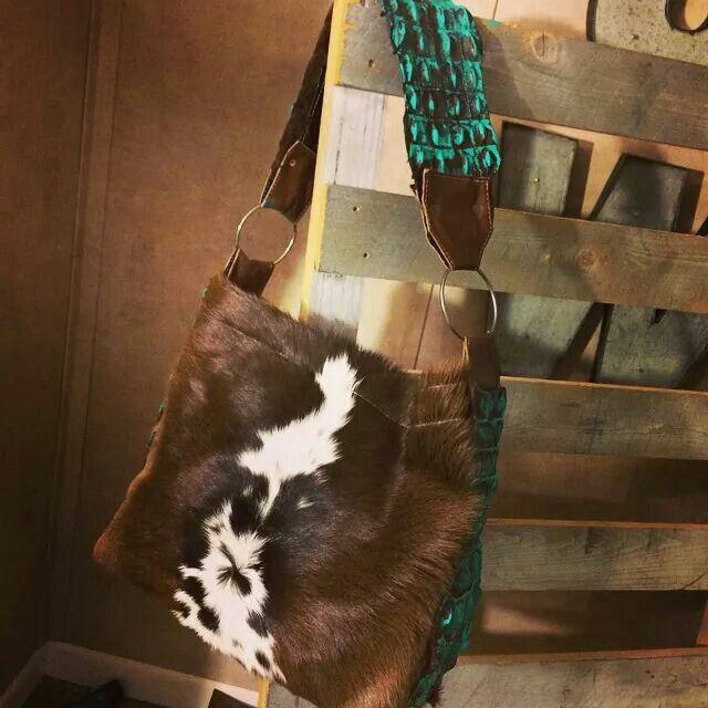 Love this calf and crock handbag