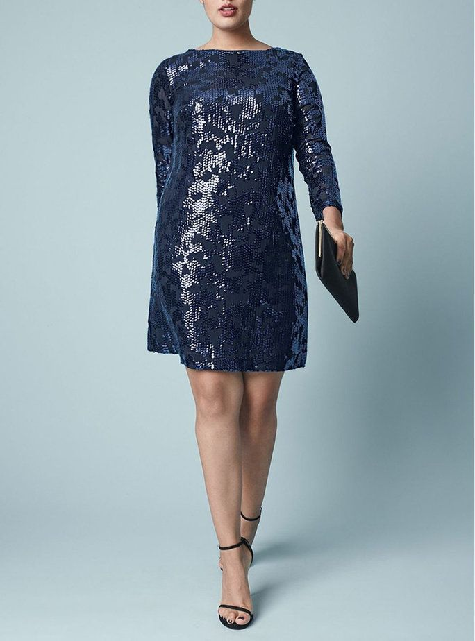 38bfd4b1d7 22 Ways to Sparkle for the Holidays | Blouse | Pinterest | Plus size ...