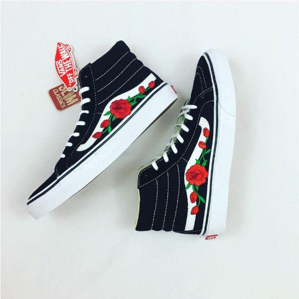 Old Skool Vans Custom Sneakers High Top