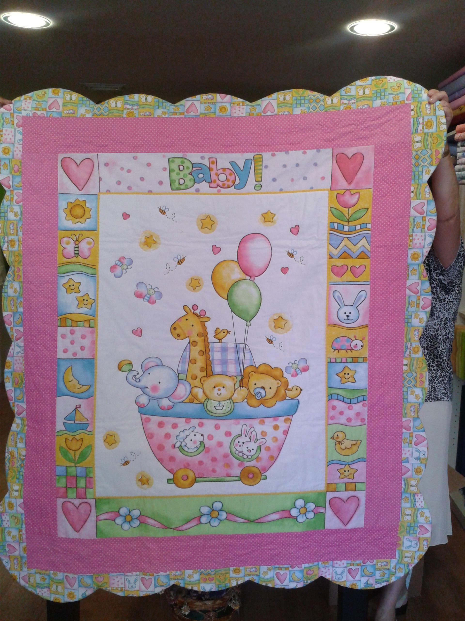 Colcha bebe trabajos baby patchwork quilt baby quilt - Patrones para colchas de patchwork ...