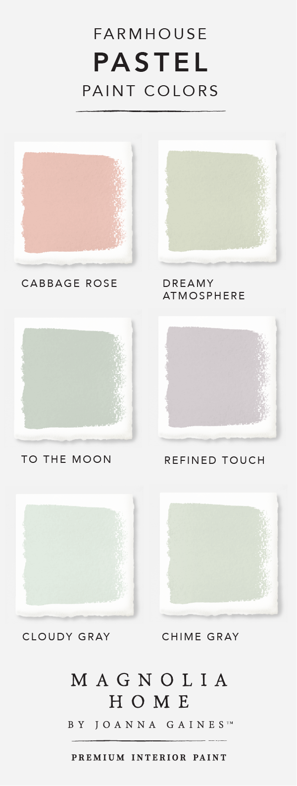 Bring a subtle pop of color into your home with this pastel color ...