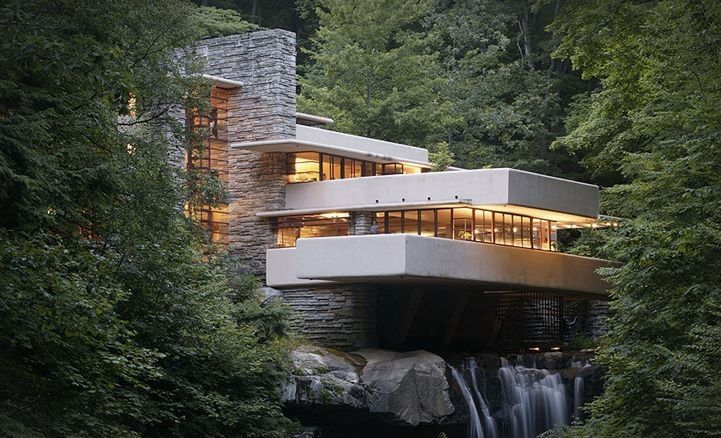 Falling Water one of my faves from FLW